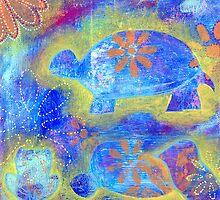 Garden in my heART - Turtle by LovingRd