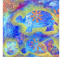 Garden in my heART - Turtle Photographic Print