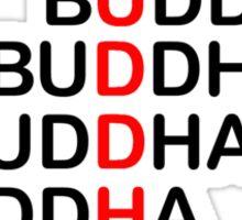 Buddha Stack Sticker