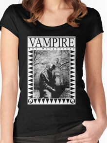 Retro: Vampire: The Masquerade 2 Women's Fitted Scoop T-Shirt