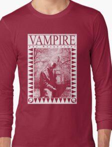 Retro: Vampire: The Masquerade 2 Long Sleeve T-Shirt