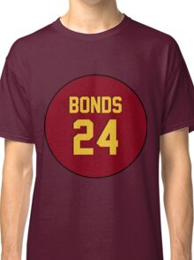 Retro Arizona State University Sun Devils Barry Bonds #24 Back Classic T-Shirt