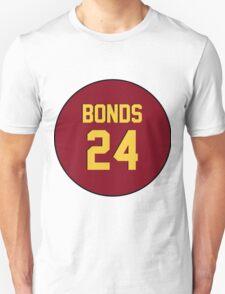 Retro Arizona State University Sun Devils Barry Bonds #24 Back T-Shirt