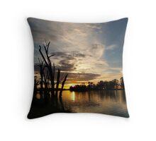 River Murray Sunrise, Berri, South Australia Throw Pillow