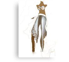 this bride Canvas Print