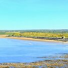 Lahinch Beach and Liscannor Bay on a Summer's Morning by Honor Kyne