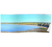 Lahinch Beach and Liscannor Bay on a Summer's Morning Poster