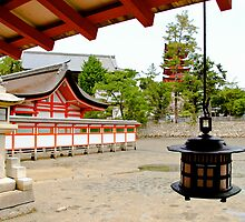 Shinto Temple by Bill  Russo
