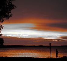 Sunset at Soldiers Point by missmarbles