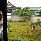Moss garden, Kyoto Zen temple by Bill  Russo