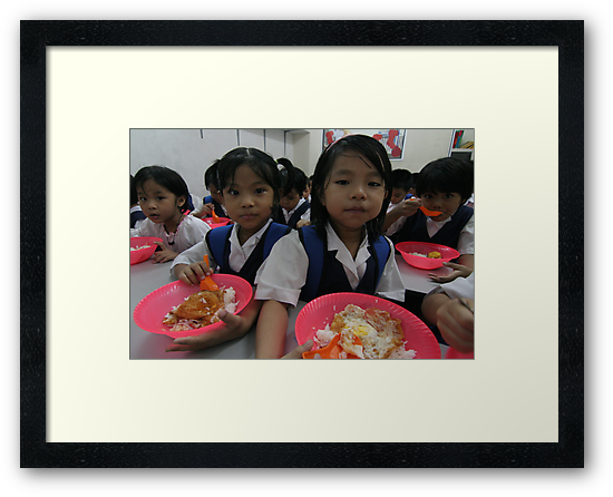 """""""brain food"""" - Series on the Chin refugee Children of Burma living in Malaysia by Colinizing  Photography with Colin Boyd Shafer"""