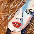 Shirley Manson - Garbage by Jacqueline Eden