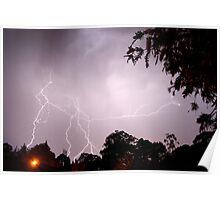 A summer storm Poster