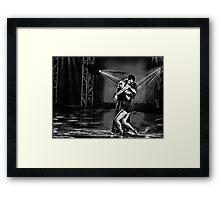 Purpose meets Passion Framed Print