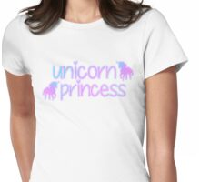 Unicorn Princess Ver. 1 Womens Fitted T-Shirt