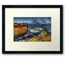 On The Edge - Razorback - Great Ocean Road - The HDR Experience Framed Print