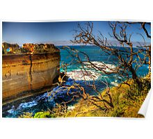On The Edge - Razorback - Great Ocean Road - The HDR Experience Poster