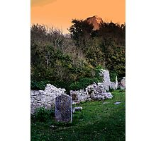 St Andrews Church and Rufus Castle Photographic Print