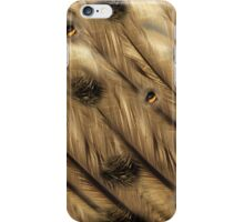 """Digital Abstract Pattern """"Feathers,Fur and Eyes"""""""" iPhone Case/Skin"""