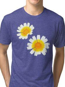 Flower Power - Daisies Tri-blend T-Shirt