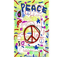 Galaxy Peace Photographic Print