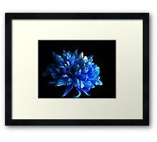 Sapphire. Framed Print