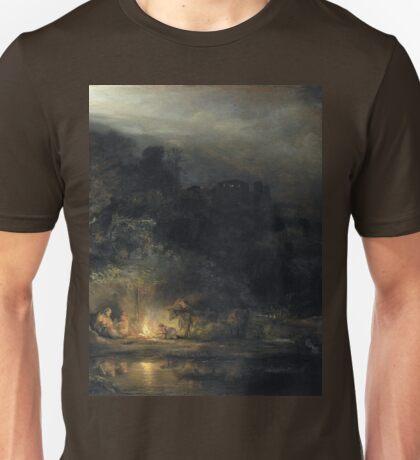 an awesome Egypt landscape Unisex T-Shirt