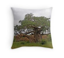 Limpopo Baobab Throw Pillow