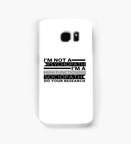 Do your research Samsung Galaxy Case/Skin