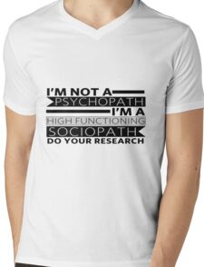 Do your research Mens V-Neck T-Shirt