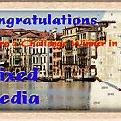 Mixed Media Challenge Winner Banner by David's Photoshop