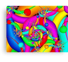 Simply Colorful Canvas Print