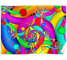 Simply Colorful Poster