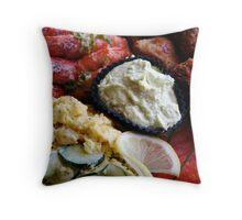O-sechi, Western Layer - Close Throw Pillow