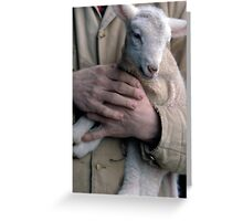 In the Hands of the Master Greeting Card