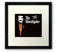 The Investigator Framed Print