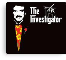 The Investigator Canvas Print