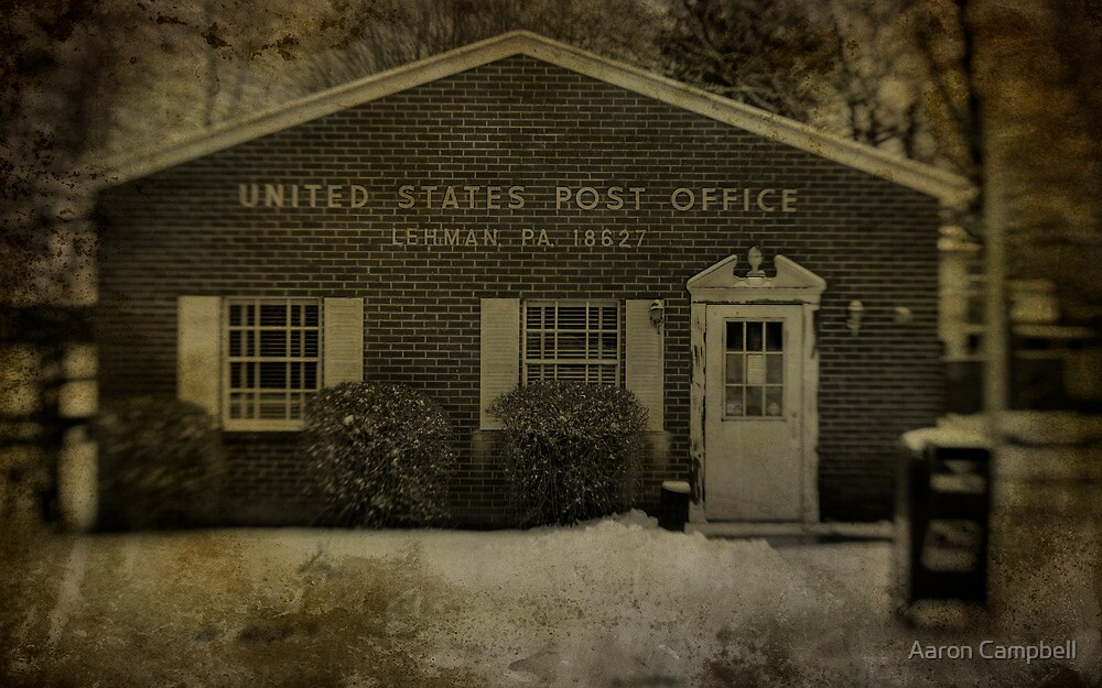 Post Office by Aaron Campbell