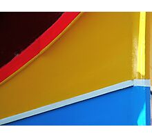 Colours of the Dghajsa Photographic Print