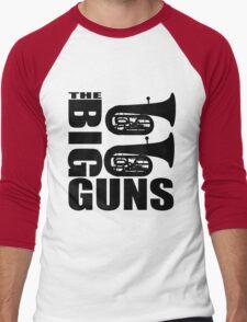 THE BIG GUNS-TUBA Men's Baseball ¾ T-Shirt