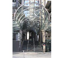 Lloyds Building Entrance, London Photographic Print