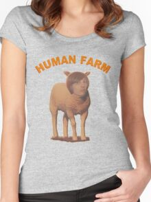Human Farm Women's Fitted Scoop T-Shirt