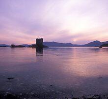 Castle Stalker I, Scotland by Scott Moncrieff