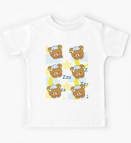 Rilakkuma ~ Sleepy Time  Kids Tee