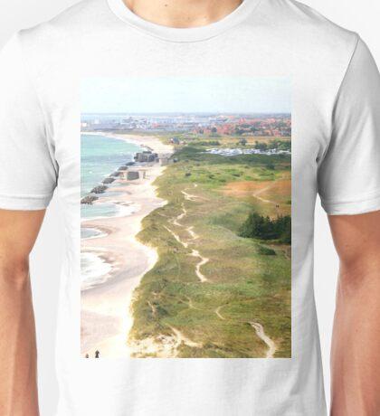 a colourful Denmark landscape Unisex T-Shirt