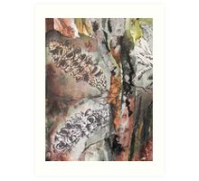 Banksia Bush Art Print