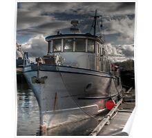 Trawler Yacht Poster