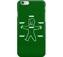 Vault Boy Stats iPhone Case/Skin