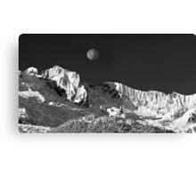 Moon Setting Canvas Print