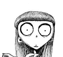 Weird Girl - Frankenweenie by Victoria  Olson